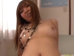 Mina Minamoto sexy Japanese AV model gets doggy style