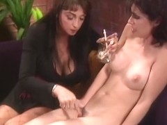 Legal Age Teenager playgirl receives her arse teased