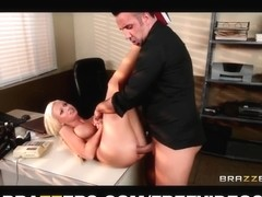 Rikki Six teases a police detective with her ideal billibongs
