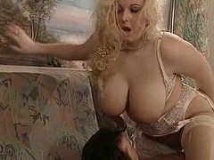 British big beautiful woman Kirsten Halborg anal screwed face spunked