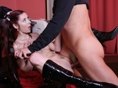Kattie Gold got picked up in public and fucked