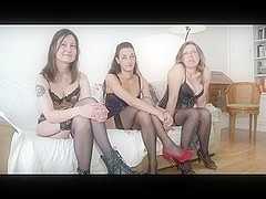 three Milfs on 1 dong Double A75