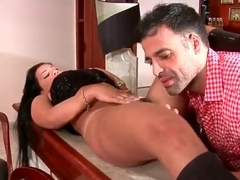 Pietra and Roge Ferro are making a nice porn movie
