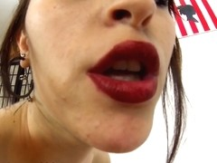 Nerea Falco in Cute Sexy girl doing handjob and blowjob while smoking - MMM100