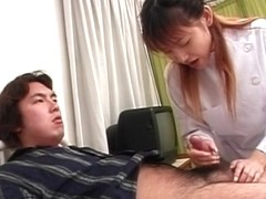 Incredible Japanese model in Exotic JAV uncensored Handjobs movie