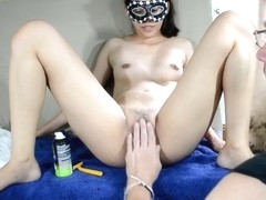 Filipina getting shaved 2