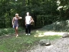 I'm shagging in outdoors in real amateur couples vid