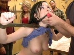 Attention whore gets ass fucked and disgraced