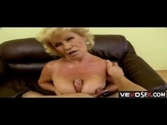 Blonde gramma Gets the fuck of her life