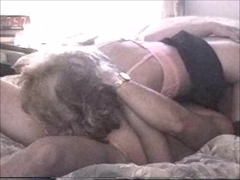 Hot blond deepthroat blowjob with cumshot