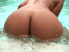 Horny pornstar in exotic big ass, black and ebony porn movie