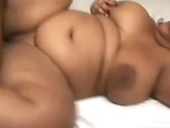 Huge Ebony Bitch Gets A Pipe Laying