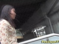 Hot asian babes ### in public