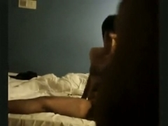 Super Sexy Brunette Hair Rides Her BF;s Wang