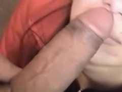 Latina girl is big dick fan