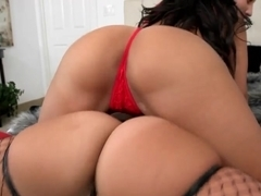 Two huge ass girls share a dick