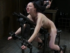 Maggie MayhemAss hooked and cunt fucked