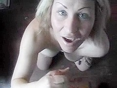 Frisky wife private facial video