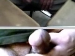 (C2C) Wanking With not Grandfather & His Thick Cock
