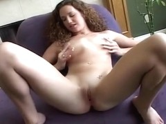 Curly Hair Amateur Heather Cums For You