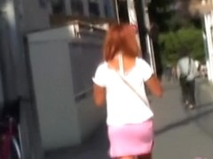 Wild sharking action with lovable Japanese chick receiving money shot