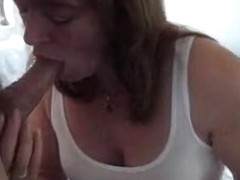 My wife swallows cum after blowjob