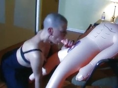 shaved serf have vicious sex with sexdolls