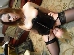 Non-Professional 3some - wife getting cum-hole eaten so wonderful