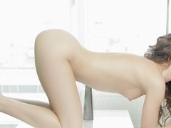 Erotic pornography of Jessika doing anal