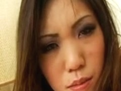 Breasty Oriental Kaiya Acquires A Double Goo Filling