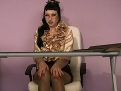 Trinity-Productions: Hairy Secretary