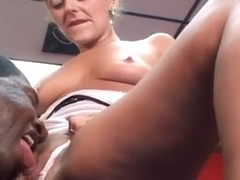 Interracial Asshole Bang With Blonde