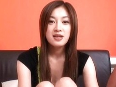 Misaki busty has beaver and mouth fucked same time by f