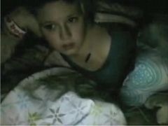 girl makes-out with her bf and has some solo pleasure