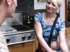 Dani Desire in Paper Girl Gets A Tip