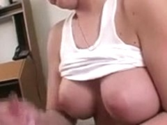 Great cook jerking from breasty non-professional wife in hawt cook jerking porn 7