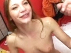 Aurora Snow Outlandish Legal Age Teenager 22 facual cumshots
