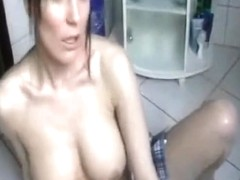 Baby Oil Masturbation and squirt
