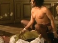 Vintage porn with the king of France enjoying hot sex