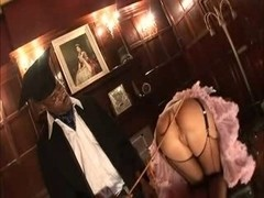 British doxy Suzie Most Excellent acquires drilled up the butt in fishnets