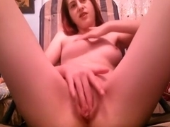 girl loves it, when her bf captures her during masturbating.