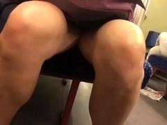 upskirt mummy in teach