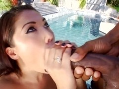 Asian London Keyes shows her passion for big cocks