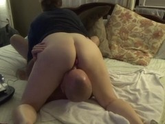 Eating her sweet pussy with anal toy