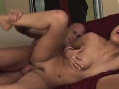 Petite slut August screams loud when fucking hard