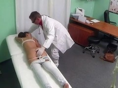 Marvelous patient screwed by doctor in fake hospital