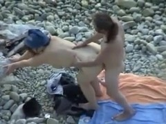 Voyeur sex on beach