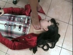 Fumiko Trampled And Foot Worship Part two