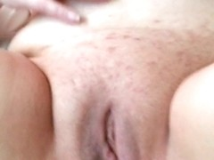 Horny girlfriend fisted til she squirts