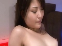Kanna Harumi with wet and hairy pussy fucked